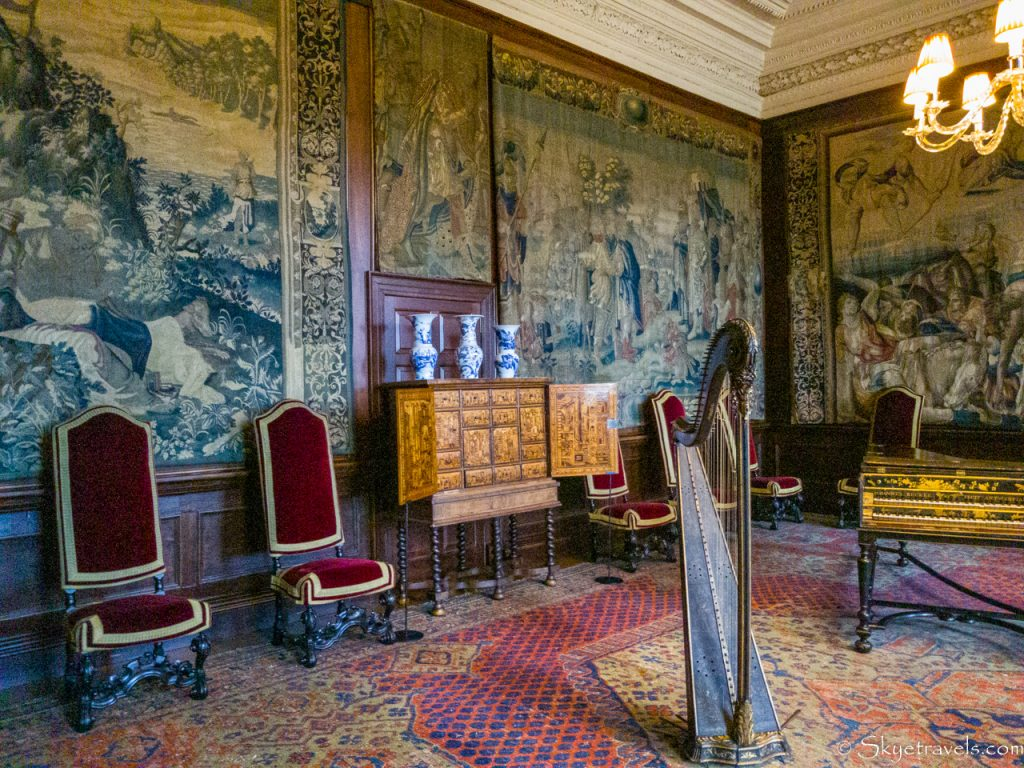 Holyrood Palace King's Ante-Chamber