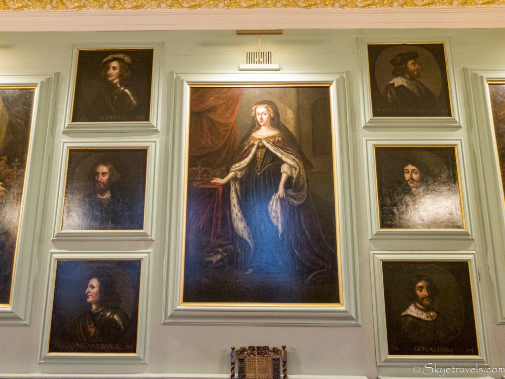 Holyrood Palace Great Gallery Portrait of Mary Queen of Scots