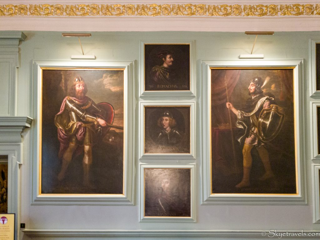 Holyrood Palace Great Gallery Portraits