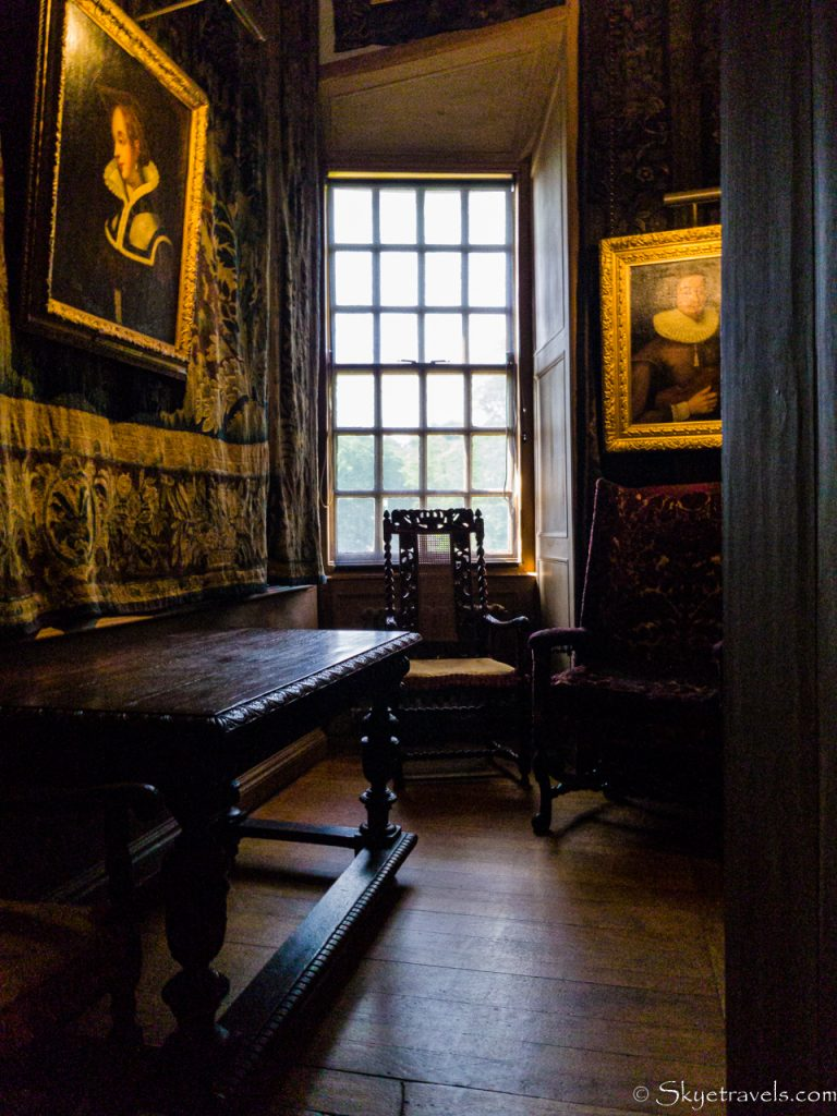 Holyrood Palace Mary Queen of Scots Private Dining Room