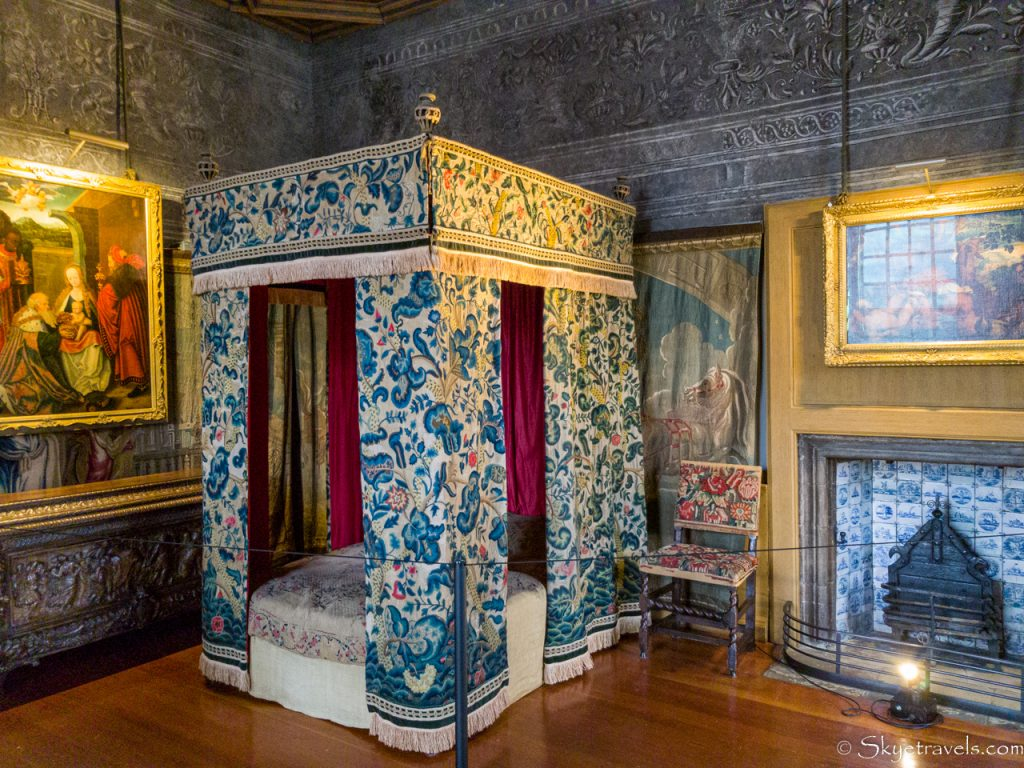 Holyrood Palace Mary Queen of Scots Bedchamber