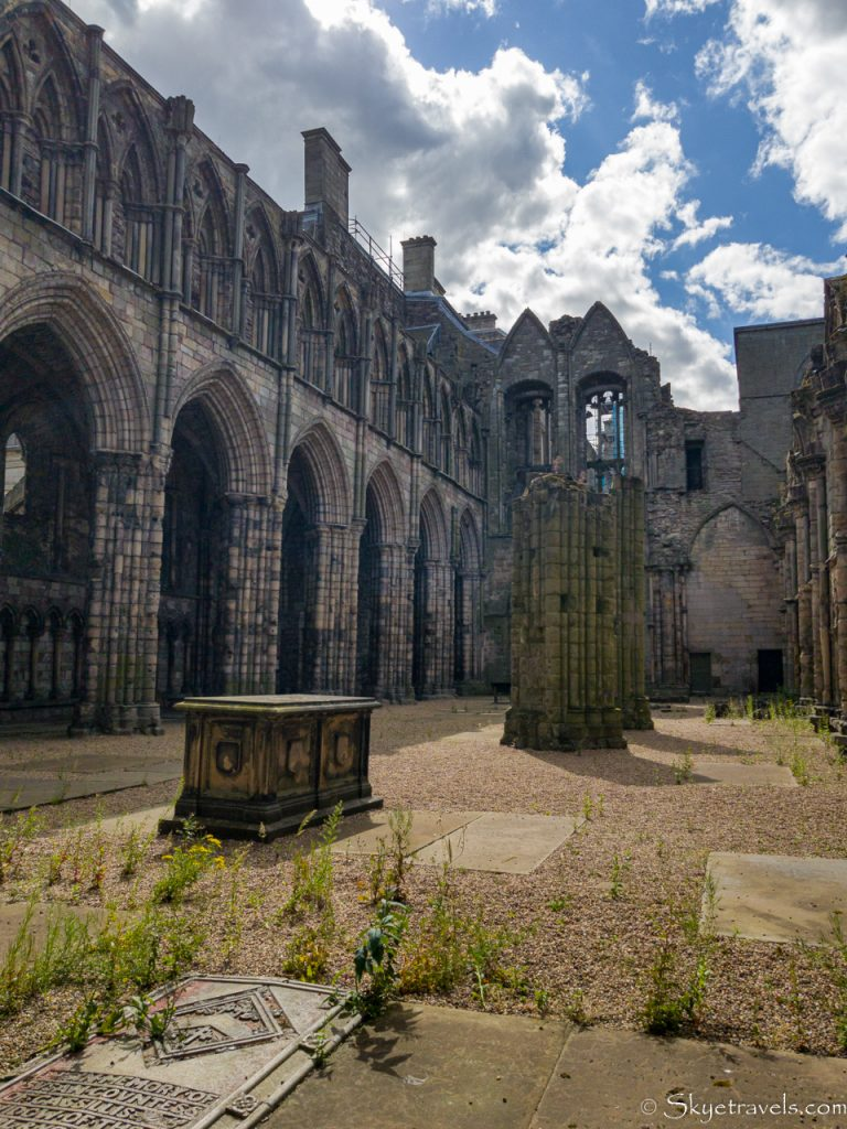 Holyrood Abbey Interior