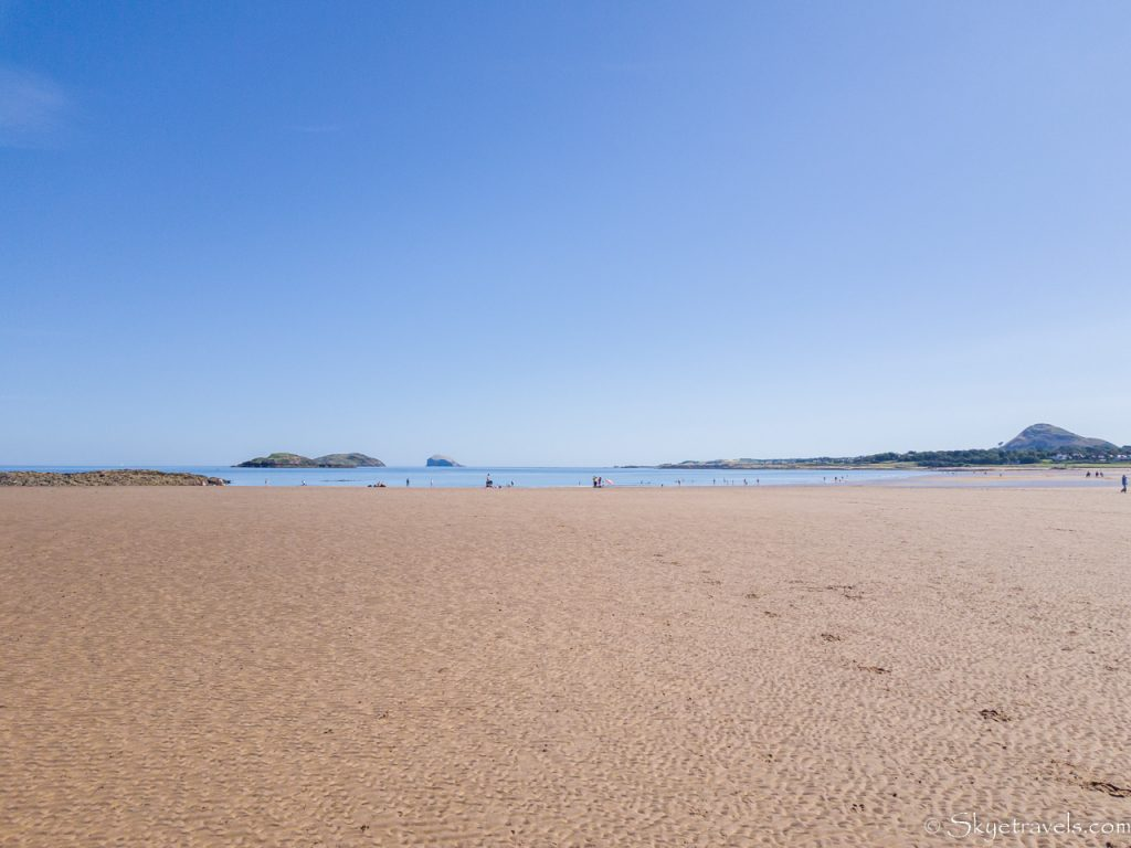 Broadsands Beach at Low Tide