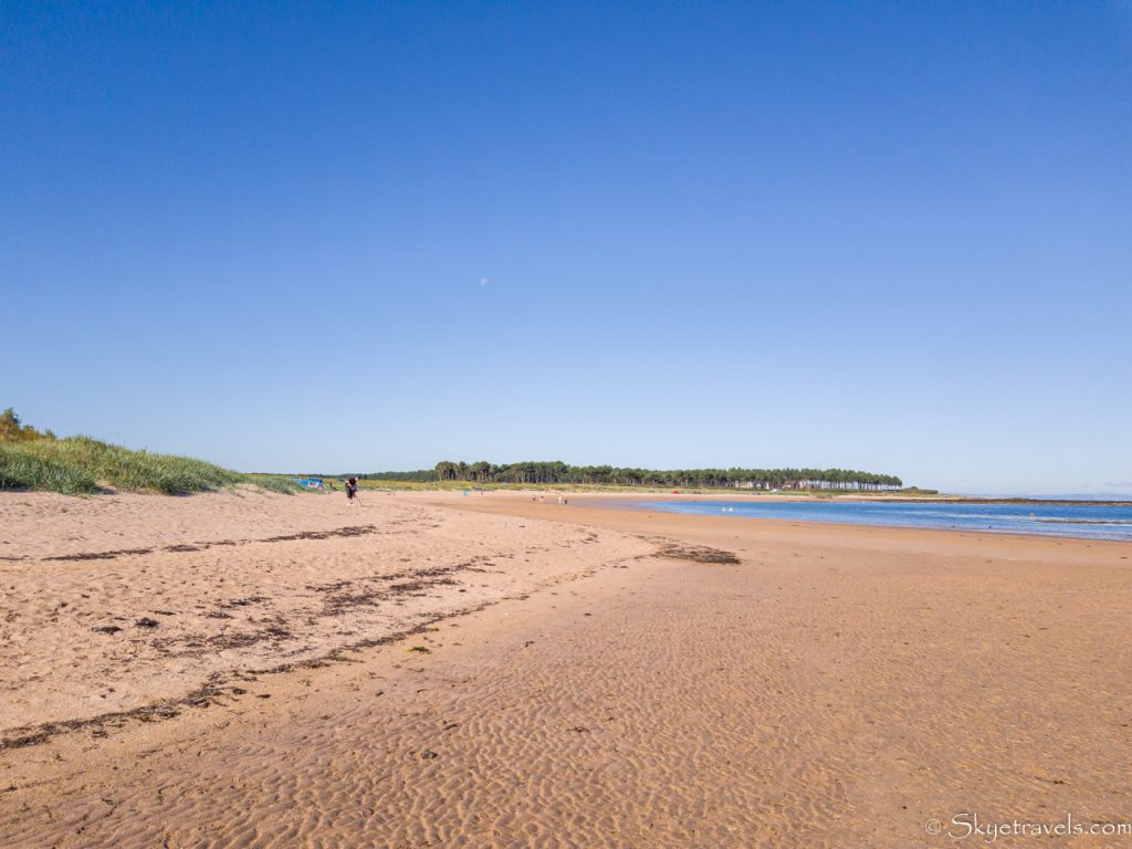 Yellowcraig Beach at Low Tide