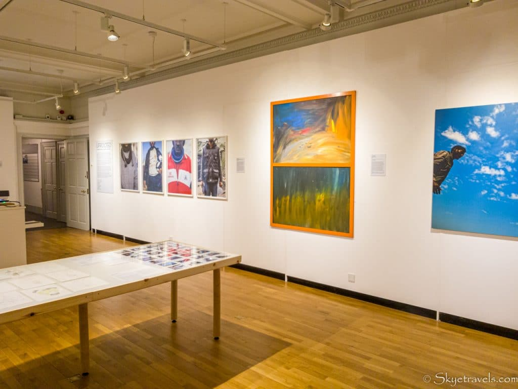 Park Gallery Exhibition Room