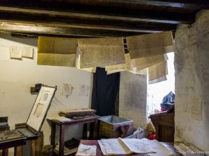 Printing Press Room