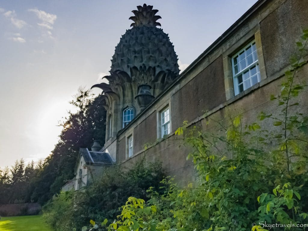 Dunmore Pineapple at Sunset