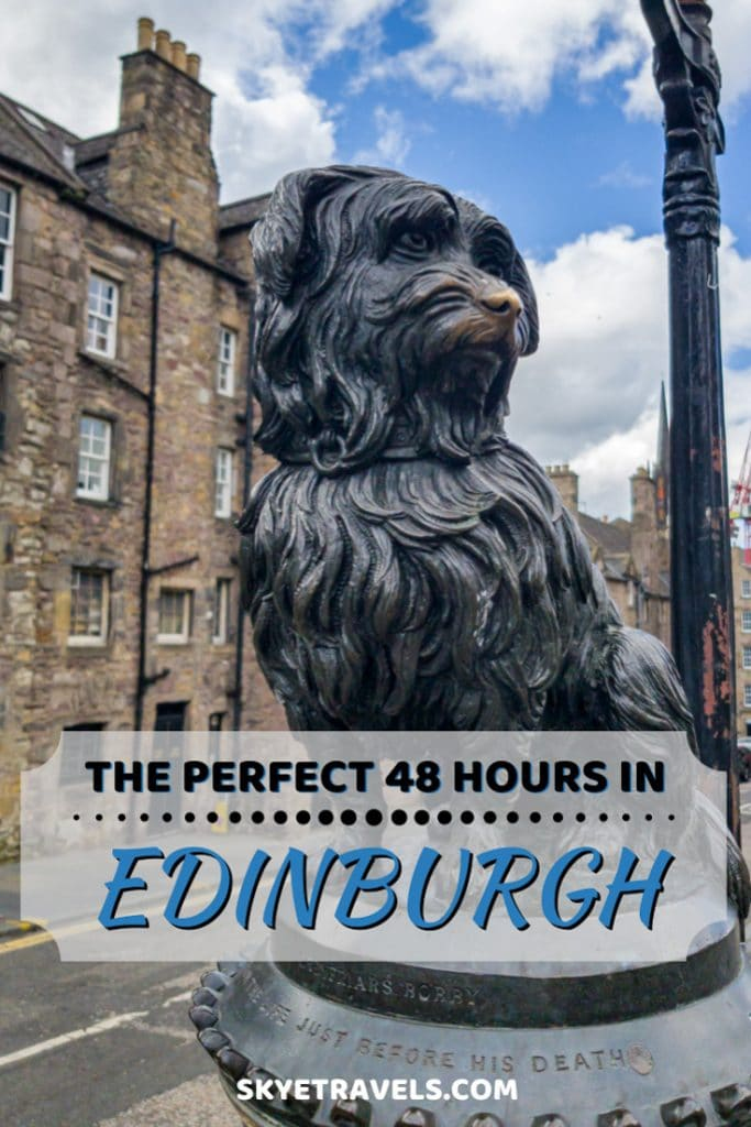 48 Hours in Edinburgh Pin