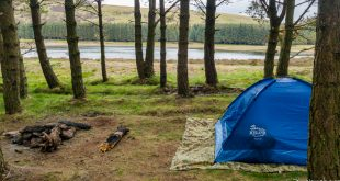 Camping in the Pentlands