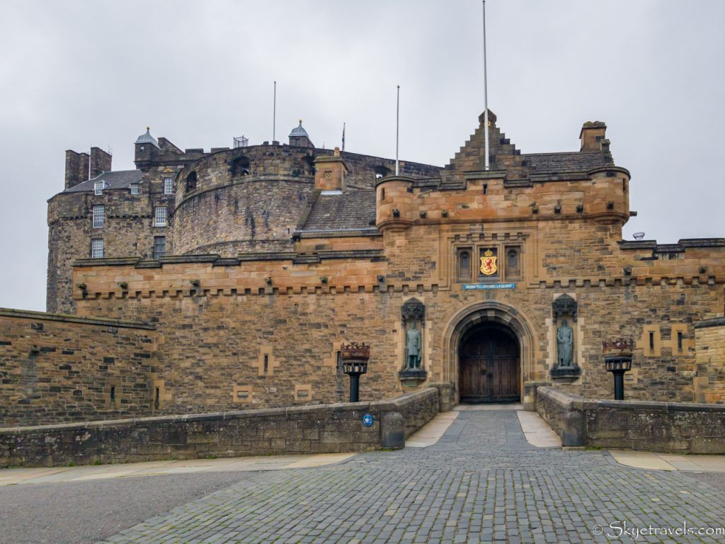 Edinburgh Castle Front Entrance
