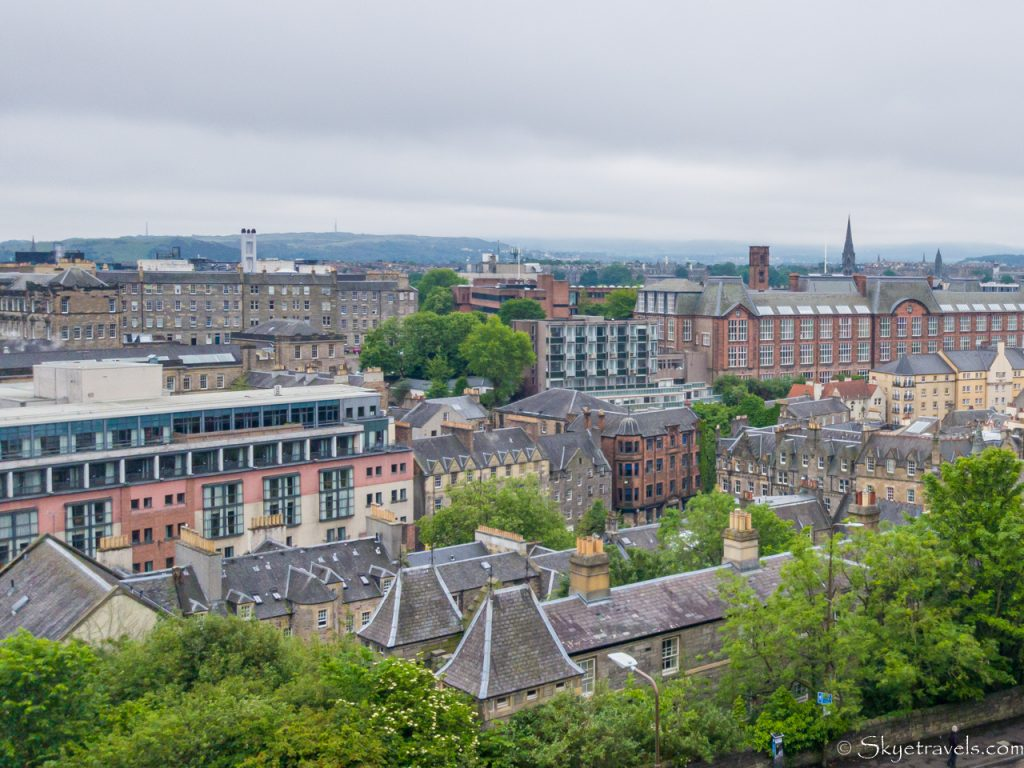 View From Edinburgh Castle Looking South