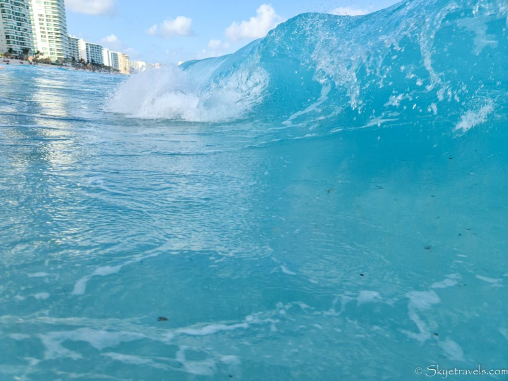 Cancun Beach Wave