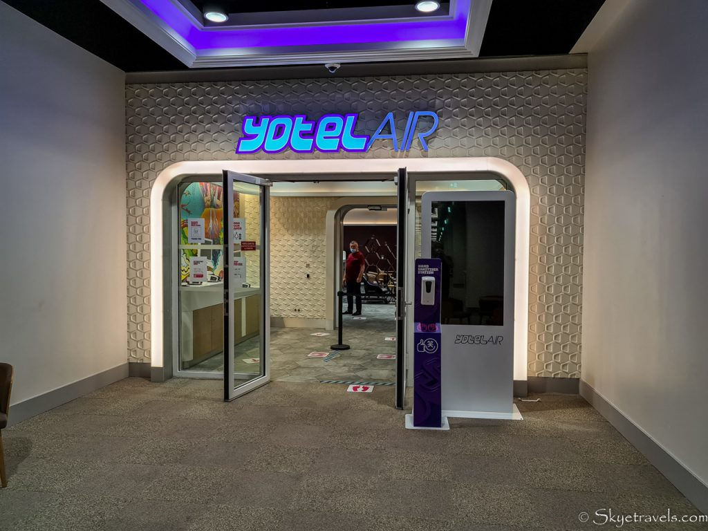 YotelAir in CDG Airport