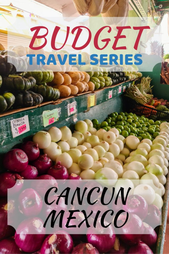 Cancun on a Budget Pin