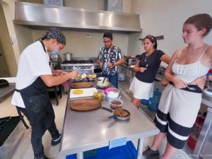 Plating the Food