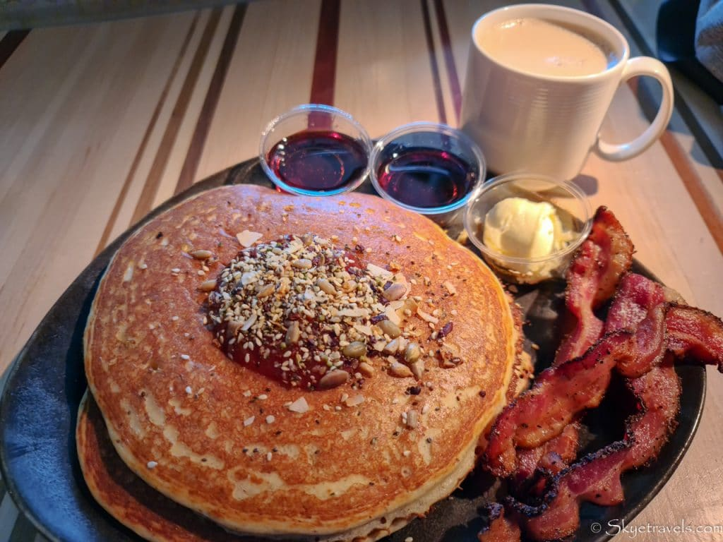 Buttermilk Pancakes at Root Down