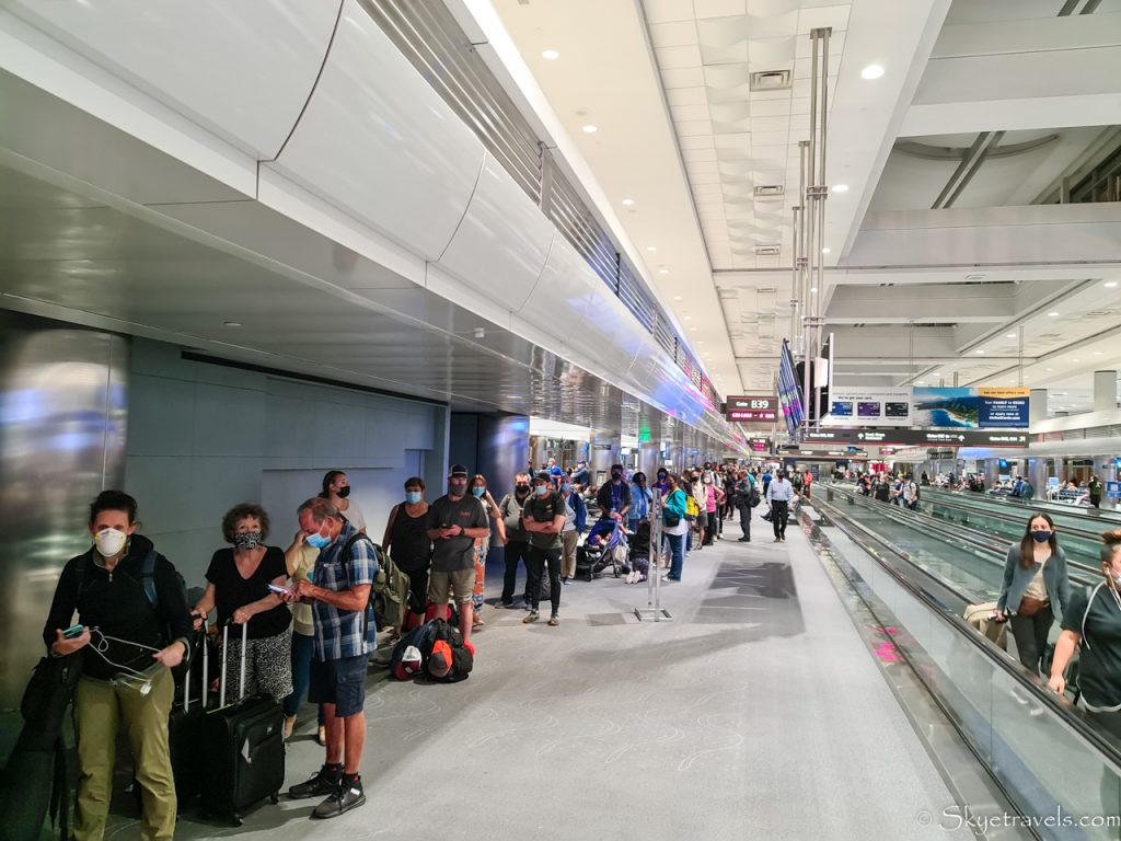 Line for United Customer Service